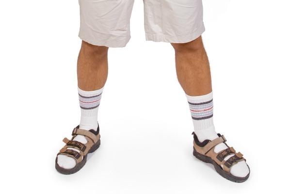sandale ponozky