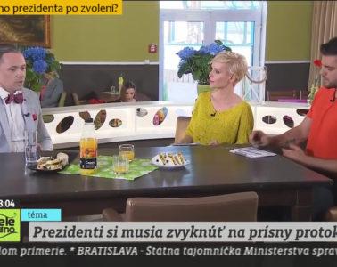 Teleráno TV Markíza: Čo čaká nového prezidenta?